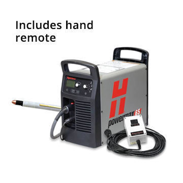 Hypertherm Powermax 65 25 ft  Hand Torch +180° Machine Torch + CPC